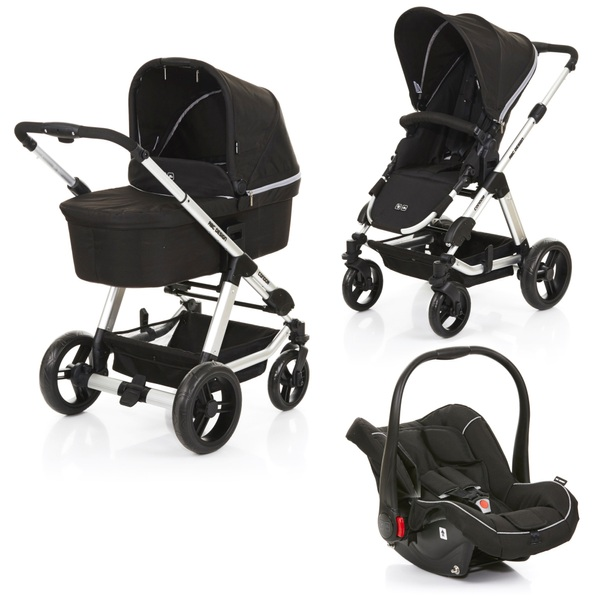 Cars Kostüm Abc Design - Travelsystem Condor 4 All In One, Black Woven