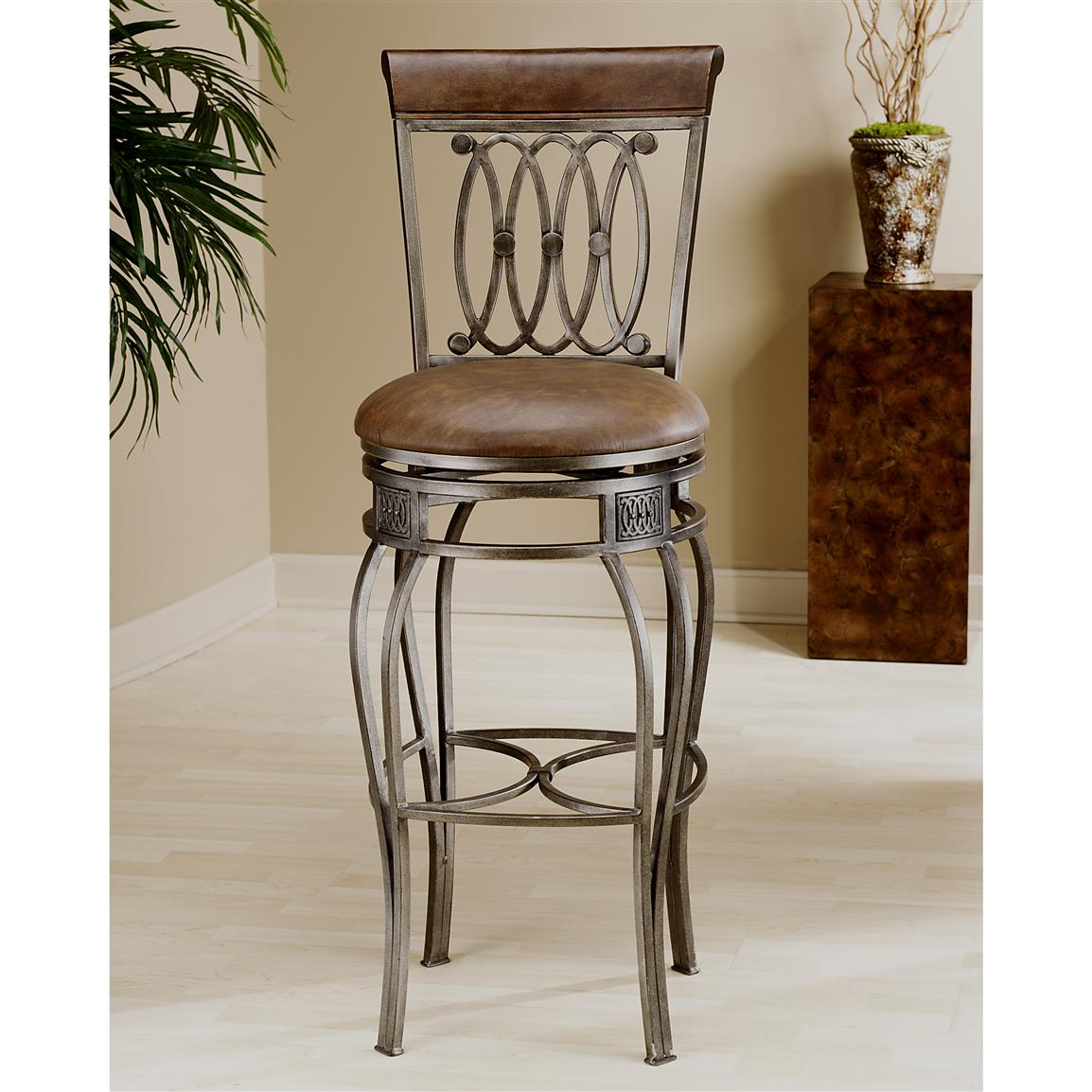 Kitchen Swivel Bar Stools Hillsdale Montello Swivel Counter Stool 118145 Kitchen