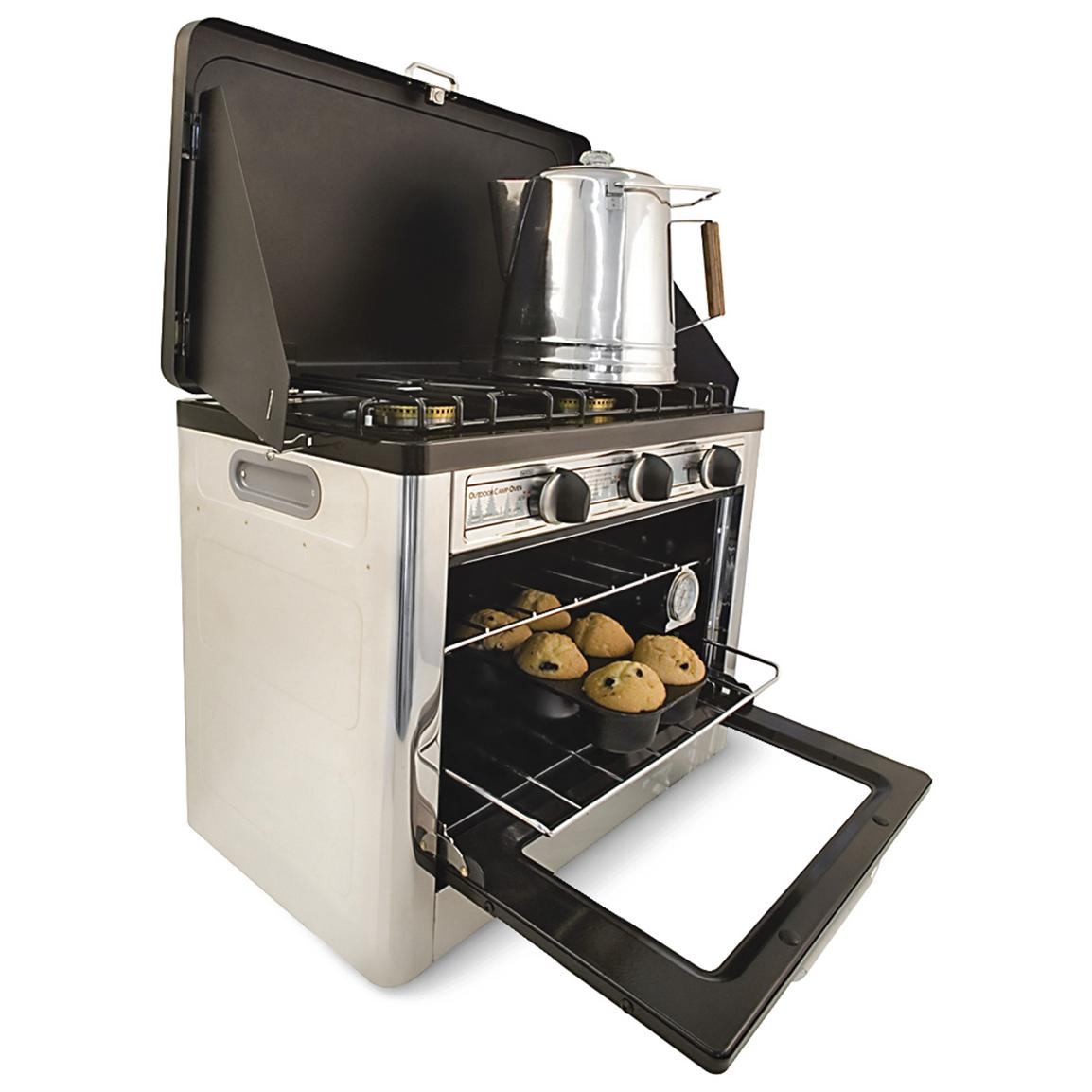 Herd Ofen Camp Chef Portable Outdoor Stove Top Oven 134960