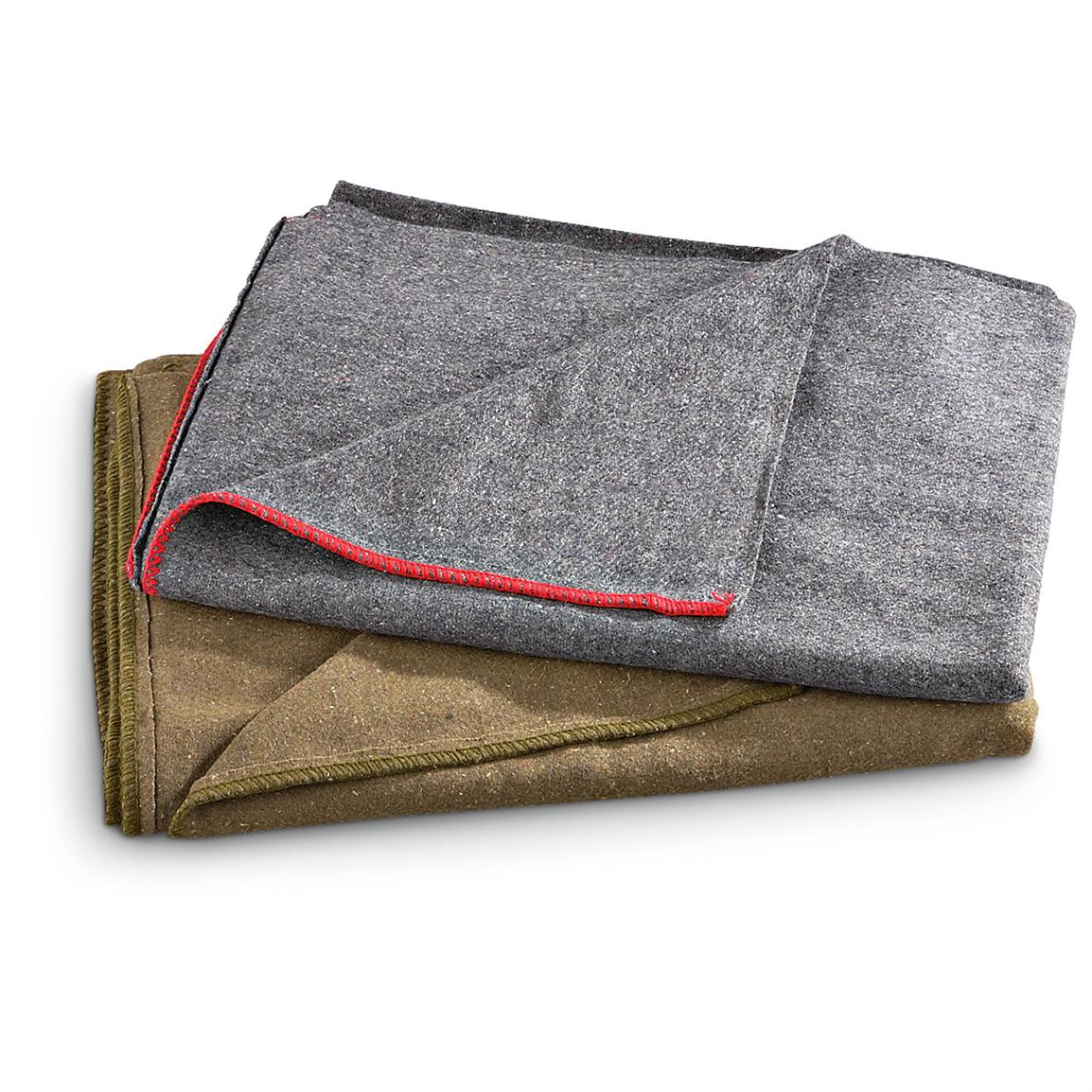 Camp Blankets 2 Fox Tactical Camp Blankets 227285 Army Blankets At