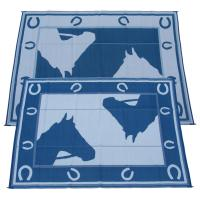 9x12' Horseshoe Indoor / Outdoor Reversible RV Mat from