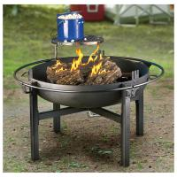 Cowboy Fire Pit Rotisserie / Grill - 282386, Stoves at ...