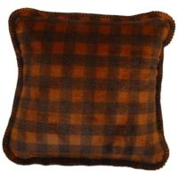 "Denali Home Buffalo Check Plaid 18"" Throw Pillow"