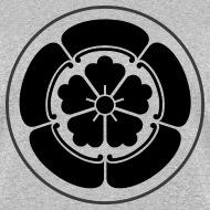 Japanese Mon and Kamon Oda Mon Japanese samurai clan black - family mon