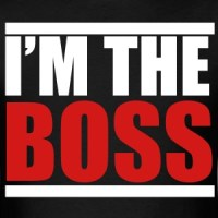 Im The Boss T