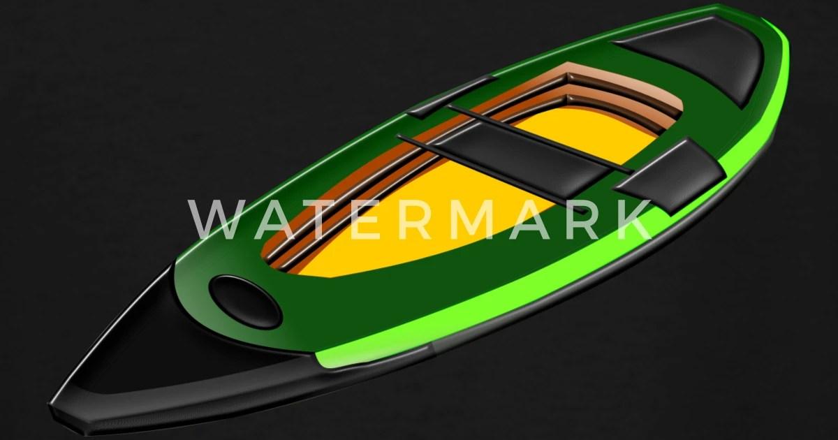 Canoe Kayak Kanu Kahn Paddelboot Ruderboot6 Men39s Tall T