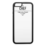 Küchenbulle T Shirt Best Chef Craftsmanship At Its Finest Iphone Case Flexible White Black