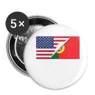Half American Half Portuguese Flag by Awesome Gifts Spreadshirt