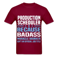 Production Scheduler by bushking Spreadshirt