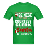 Shop Courtesy Clerk T-Shirts online Spreadshirt - courtesy clerk