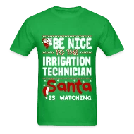 Irrigation Technician by bushking Spreadshirt