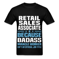 Retail Sales Associate by bushking Spreadshirt