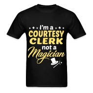 Shop Courtesy Clerk T-Shirts online Spreadshirt