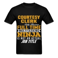 Courtesy Clerk by bushking Spreadshirt