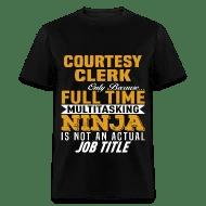 Courtesy Clerk by bushking Spreadshirt - courtesy clerk