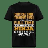 Shop Critical Care Transport Nurse T-Shirts online Spreadshirt