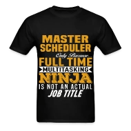 Master Scheduler by bushking Spreadshirt - master scheduler job description