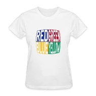 Shop Red Yellow Blue T-Shirts online Spreadshirt