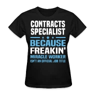 Shop Contract Specialist T-Shirts online Spreadshirt