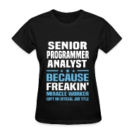Senior Programmer Analyst by bushking Spreadshirt - senior programmer job description
