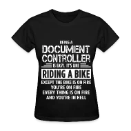 Document Controller by bushking Spreadshirt
