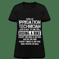 Irrigation Technician Women\u0027s T-Shirt Spreadshirt