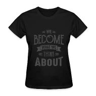 Think About - Motivational Quotes by Cido Spreadshirt
