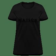 Shop Presumed T-Shirts online Spreadshirt - dr watson i presume