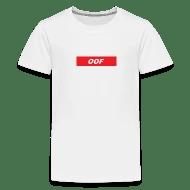 Roblox Supreme Oof Kids\u0027 Premium T-Shirt Spreadshirt