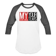 T Shirt Frame Frame Cool Design Successful Text My Blood Sweat Y Baseball T Shirt White Charcoal