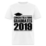 Shirts by Uylee Congratulations Graduates 2019 - Mens T-Shirt