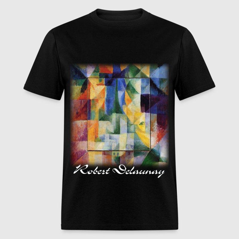 Robert delaunay simultaneous windows on t shirt spreadshirt