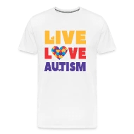 Autism Awareness, Live Love Autism, teacher, month by EcoKeeps