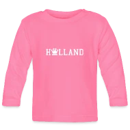 Baby Koningsdag Kings Day Holland Koningsdag Dutch Baby Langarmshirt Azalea