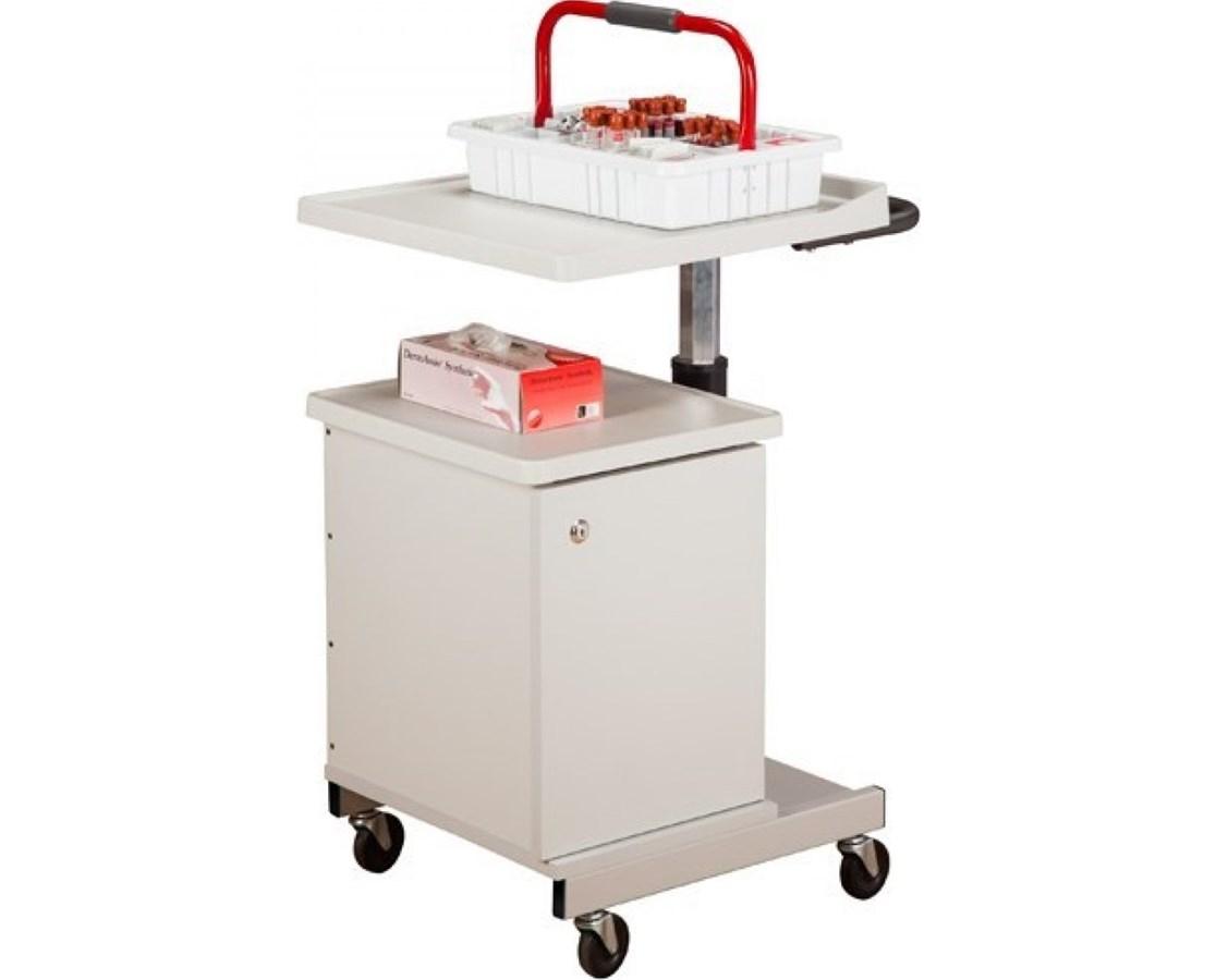 Clinton H Base Pneumatic Phlebotomy Cart Save At Tiger