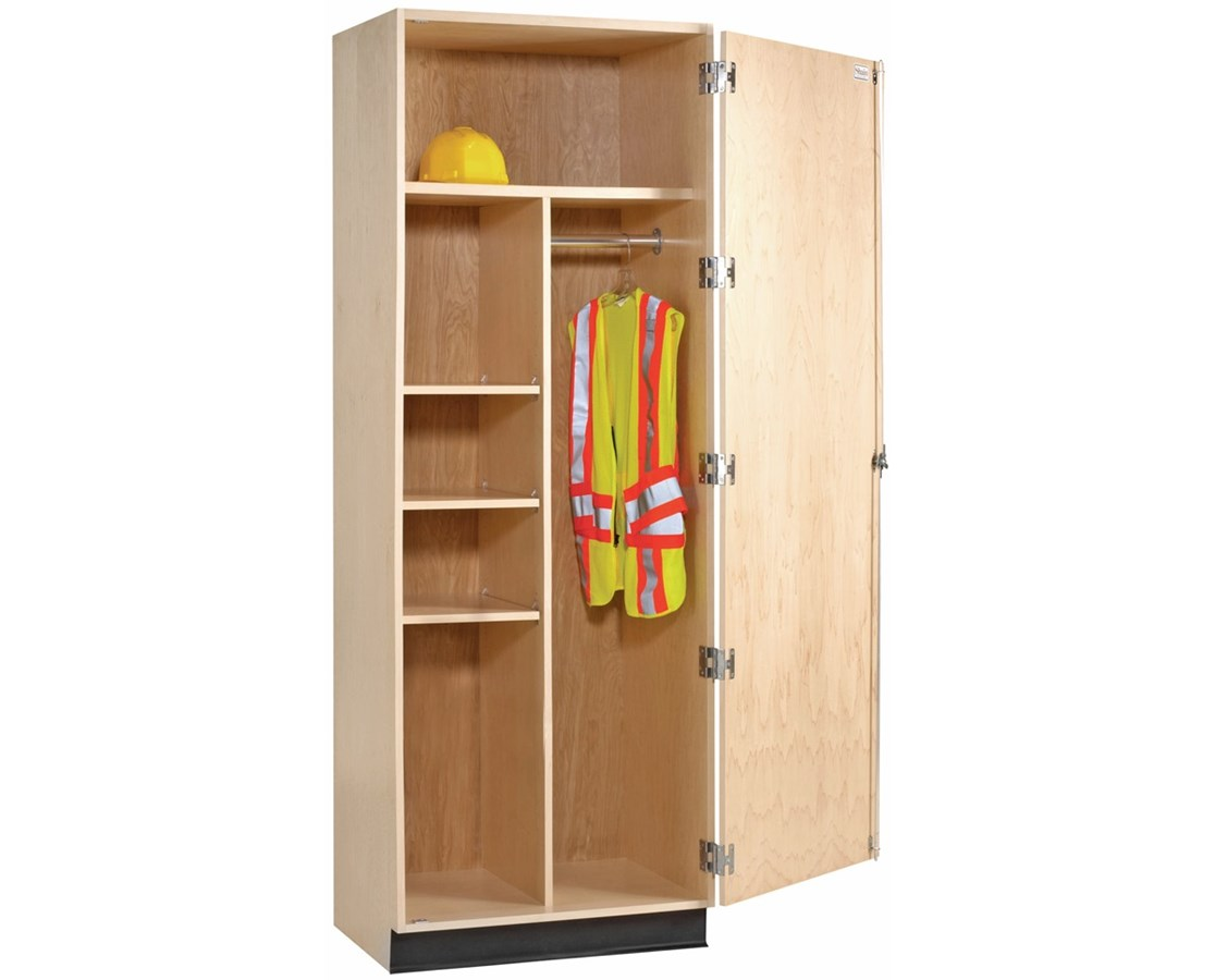 Wardrobe Storage Cabinet Diversified Woodcrafts Single Door Wardrobe Storage