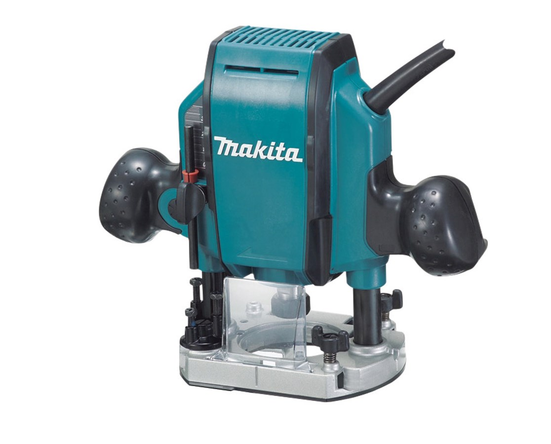 Makita Rp0900k Makita Rp0900k 1 1 4 Hp Plunge Router 27 000 Rpm With Case