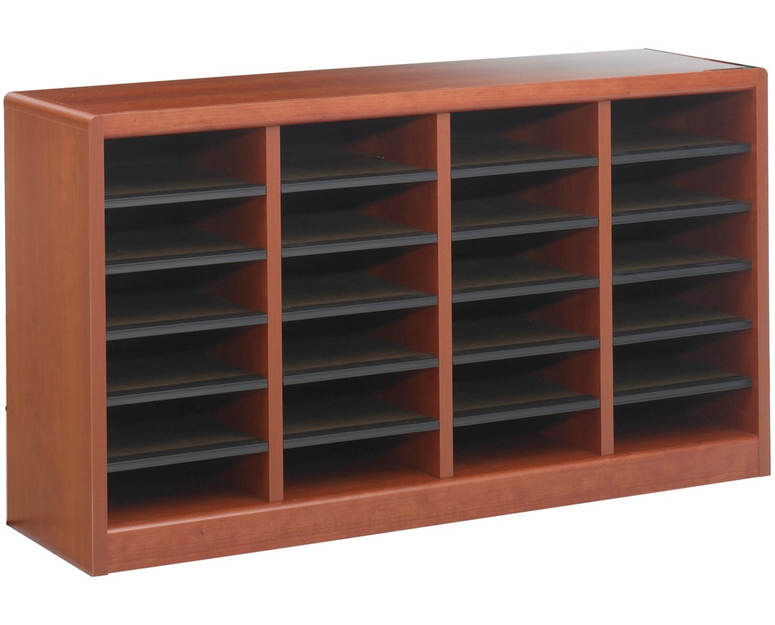 Literature Organizer Wood Safco E Z Stor Wood Literature Organizer Tiger Supplies