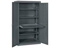 Sandusky Lee Storage Cabinet with Pull-Out Shelves Tiger ...