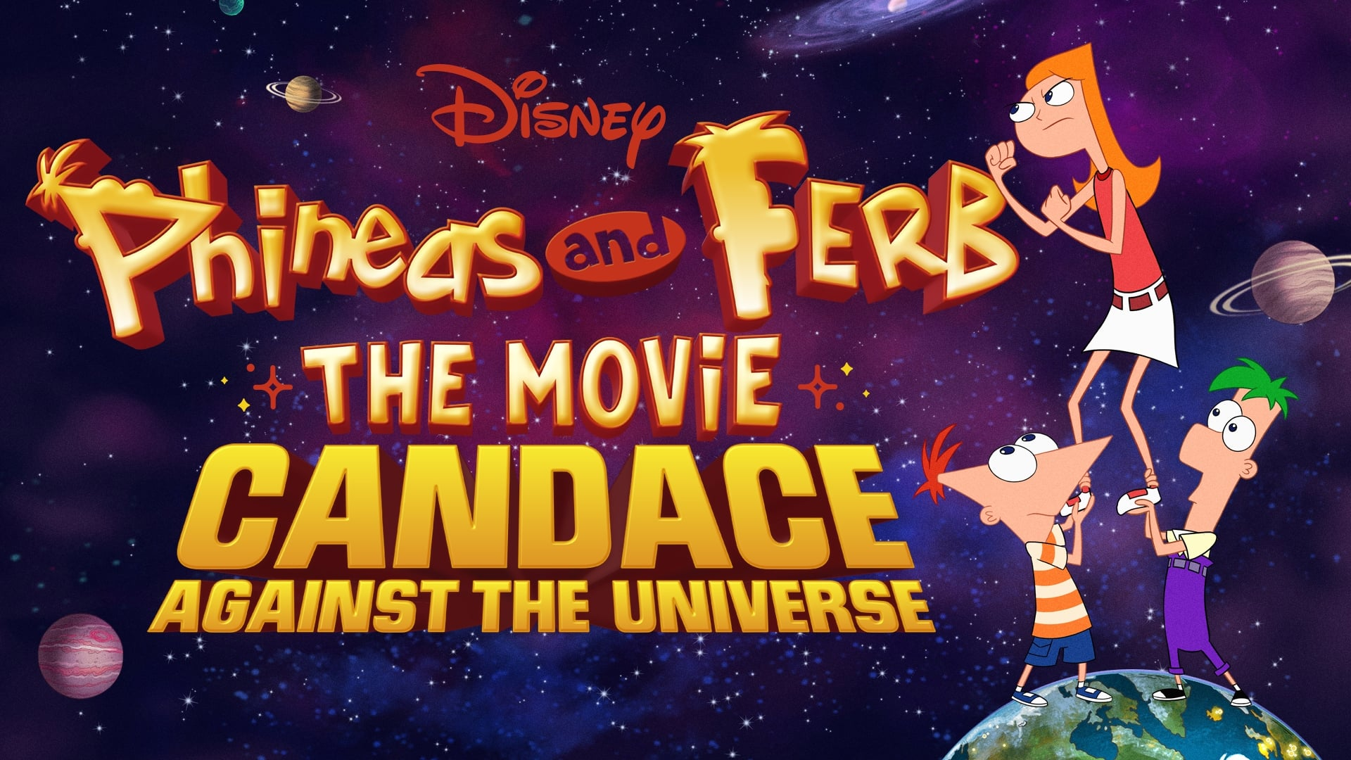 Phineas and Ferb The Movie: Candace Against the Universe (2020)
