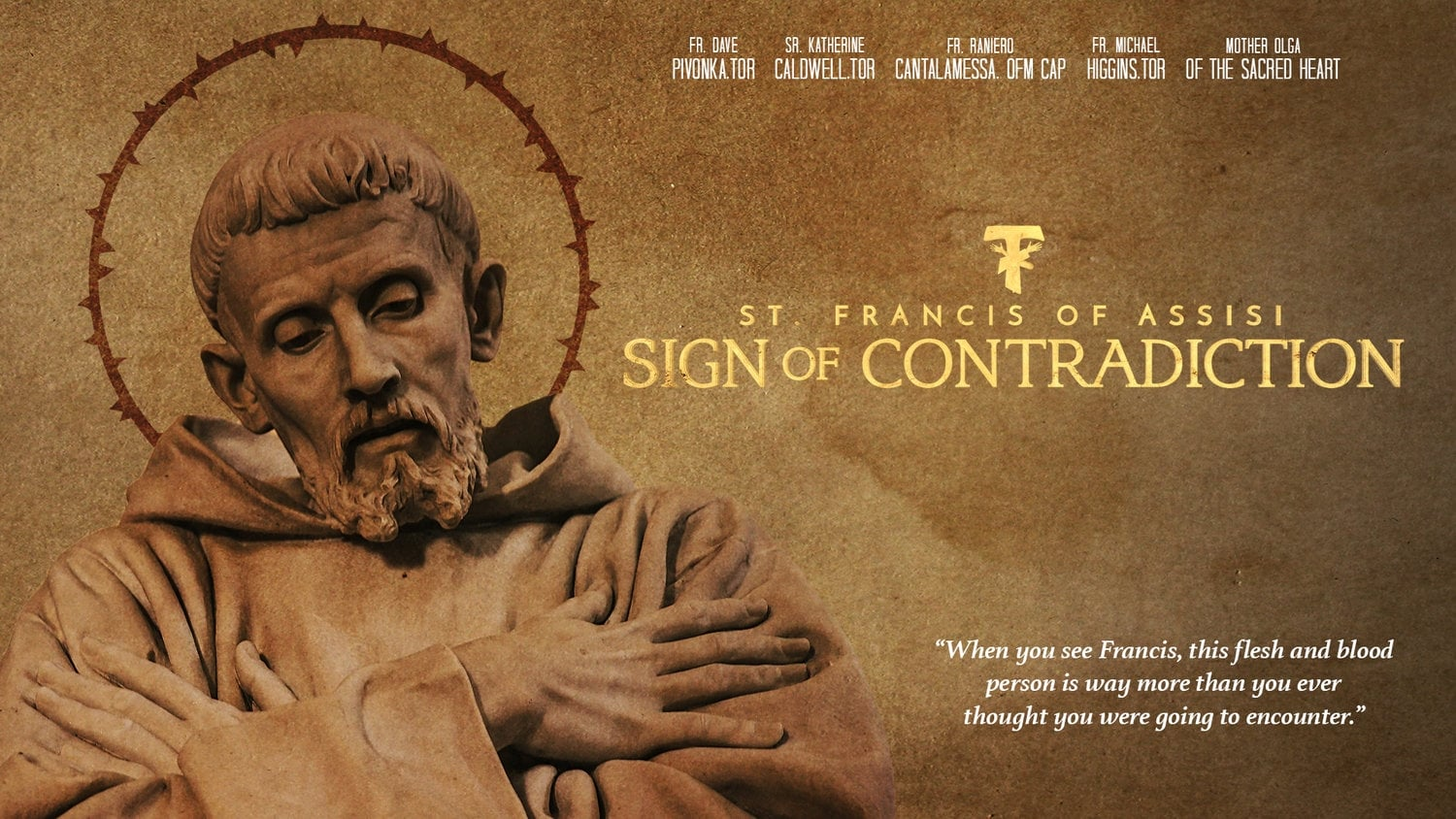 Sign of Contradiction: St. Francis of Assisi (2019)