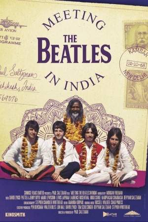 Image Meeting the Beatles in India