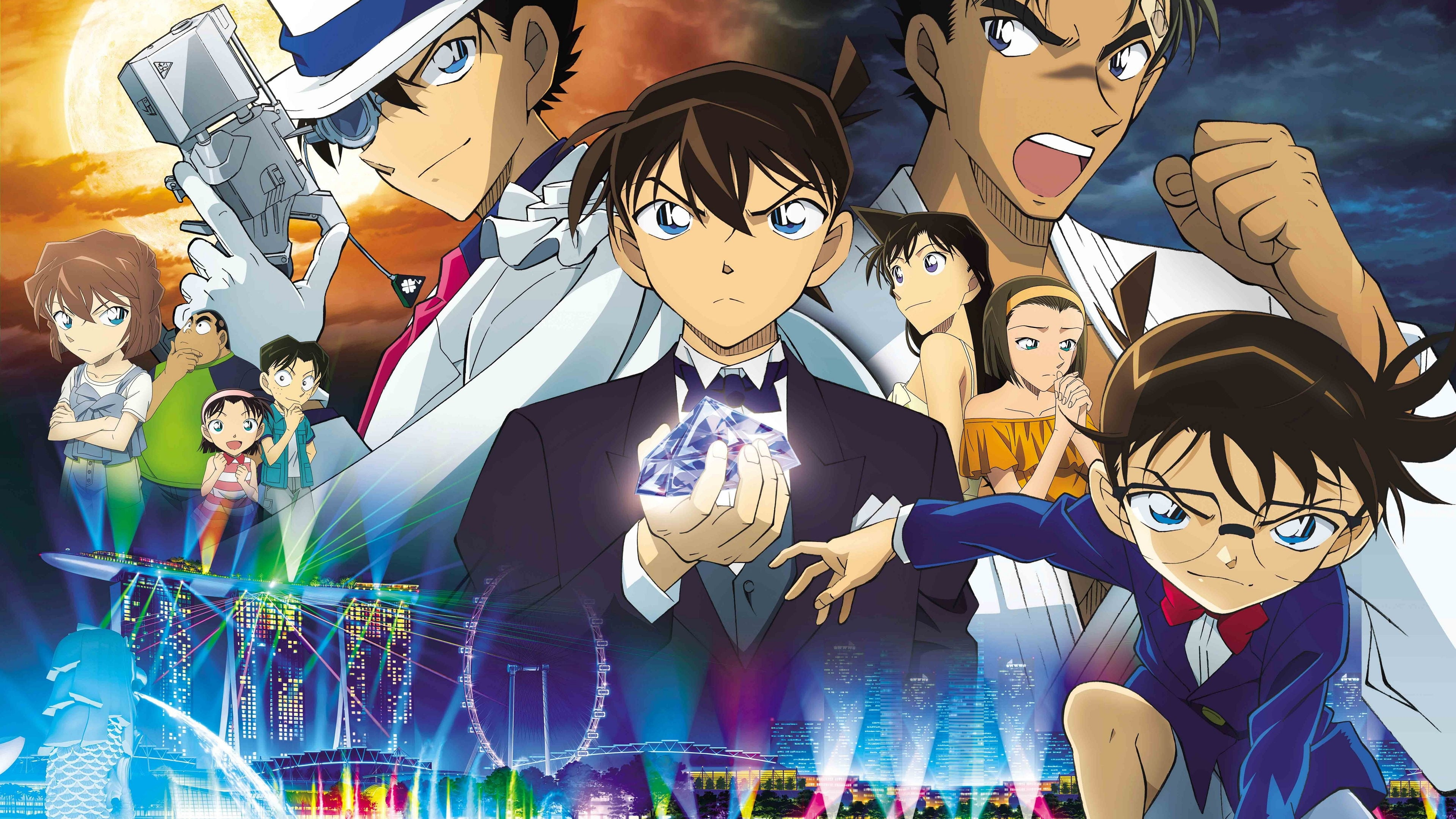 Bleue Saphir Streaming Detective Conan The Fist Of Blue Sapphire 2019 Full