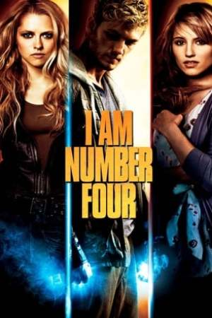 Poster I Am Number Four 2011