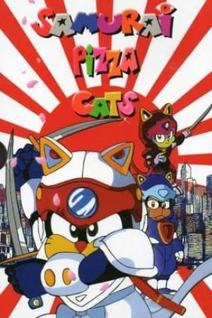 Image Samurai Pizza Cats