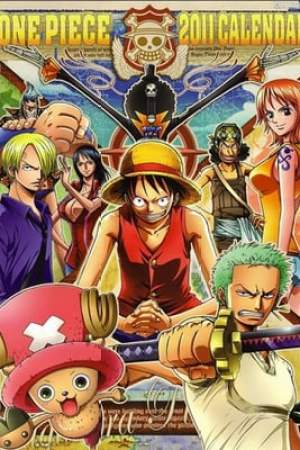 Poster One Piece: Protect! The Last Great Stage 2003