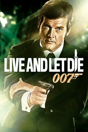 Poster Live and Let Die 1973