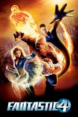 Poster Fantastic Four 2005