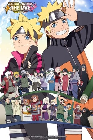 Poster NARUTO to BORUTO The Live 2019 2019