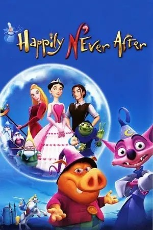 Poster Happily N'Ever After 2007